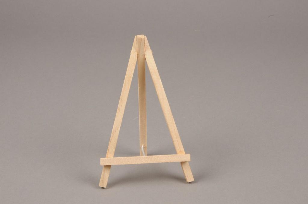 A012D0 Pack of 12 wooden easel H15cm