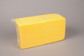 A253QV Pack of 2 yellow cube floral foam wettable 15cm