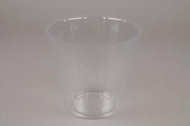 A001V9 Pack of 20 plastic pots D16.5cm H15cm