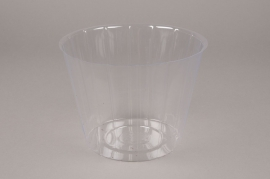 A002V9 Pack of 20 plastic pots D19cm H14cm