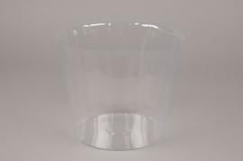 A004V9 Pack of 20 plastic pots D20cm H16.5cm
