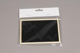 A011D0 Pack of 24 slate labels L15cm H10cm