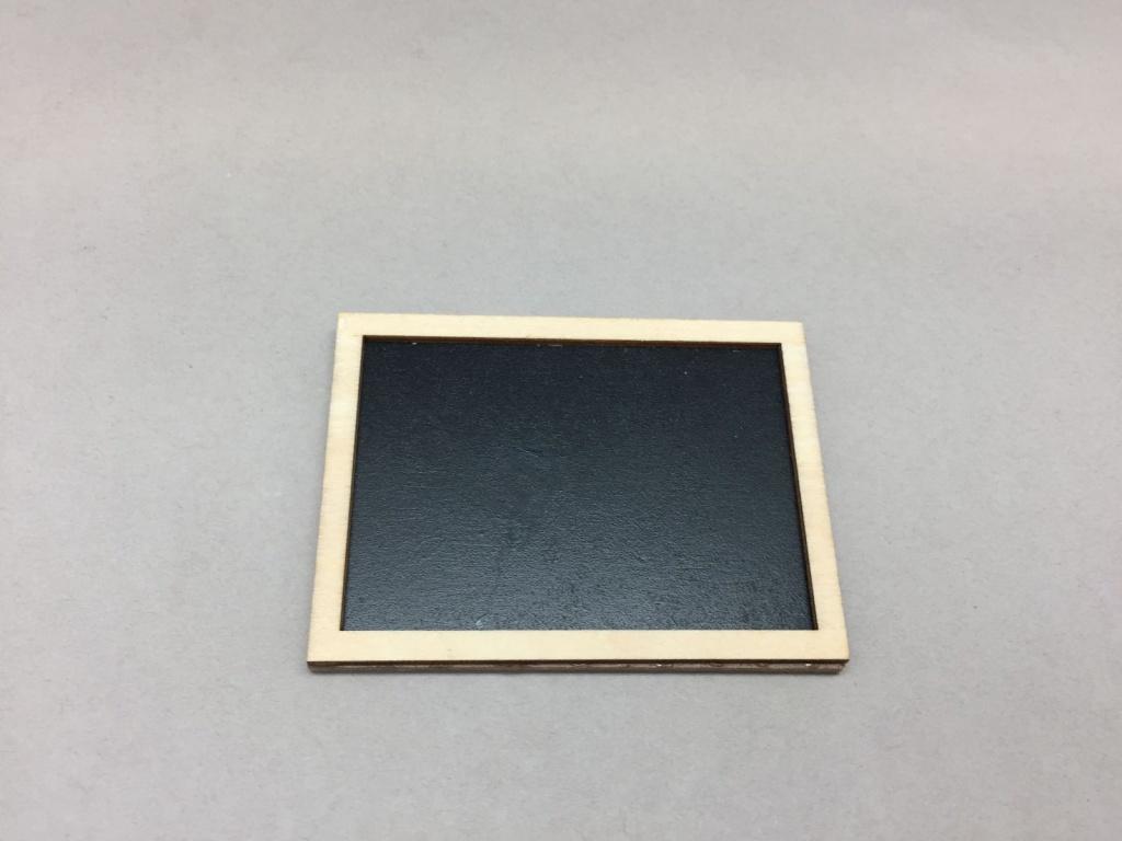 A009D0 Pack of 24 slate labels L7.5cm H5.5cm
