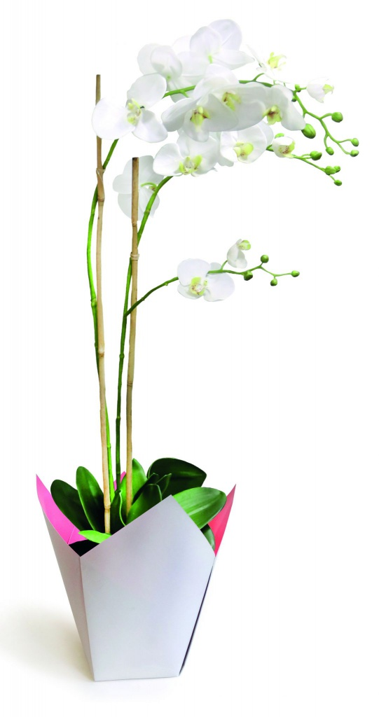 A238QX Pack of 25 grey waterproof planters 7.5cm x 7.5cm H16cm
