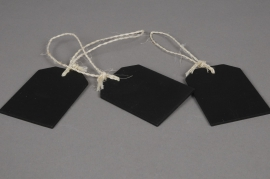 A943QJ Pack of 3 wooden tags width 5,5cm length 7cm