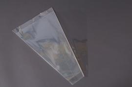 A019MO Pack of 50 cellophane bags neutral 35x60cm