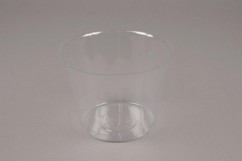 A000V9 Pack of 50 plastic pots D10cm H9.5cm