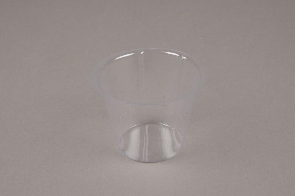 A006V9 Pack of 50 plastic pots D7cm H5cm