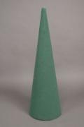 a014qv Paquet de 2 cones en mousse florale mouillable D12cm H40cm