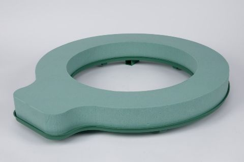 a064qv Package of 2 rings floral foam D60cm H7cm