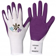 A002JE Pair of gloves flowers and balcony size 8