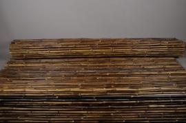 A034DN Palissade en bambou plein noir 200 x 300cm
