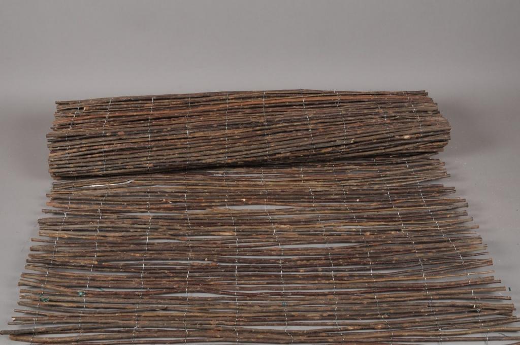 A009DN Palissade en osier 100 x 500cm