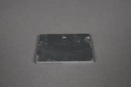 A009B2 Paquet de 10 étiquettes ardoise 7x5cm