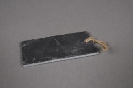 A023B2 Paquet de 10 étiquettes ardoise rectangle 10x5cm