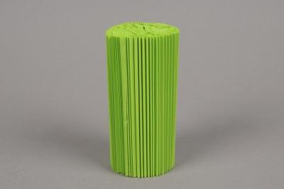 A005Z5 Paquet de 100 manchettes vert pomme H12cm