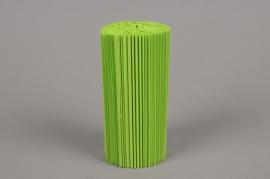 A006Z5 Paquet de 100 manchettes vert pomme H14cm