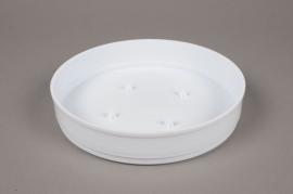 A077T7 Paquet de 11 coupes en plastique blanc D20 H4cm