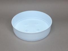 A079T7 Paquet de 12 coupes en plastique blanc D15 H4cm