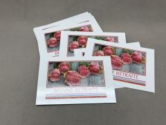 A098MQ Pack of 15 postcards Bonne Retraite