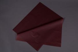 A634QX Paquet de 240 feuilles papier de soie chocolat 50x75cm