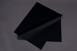A636QX Paquet de 240 feuilles papier de soie noir 50x75cm