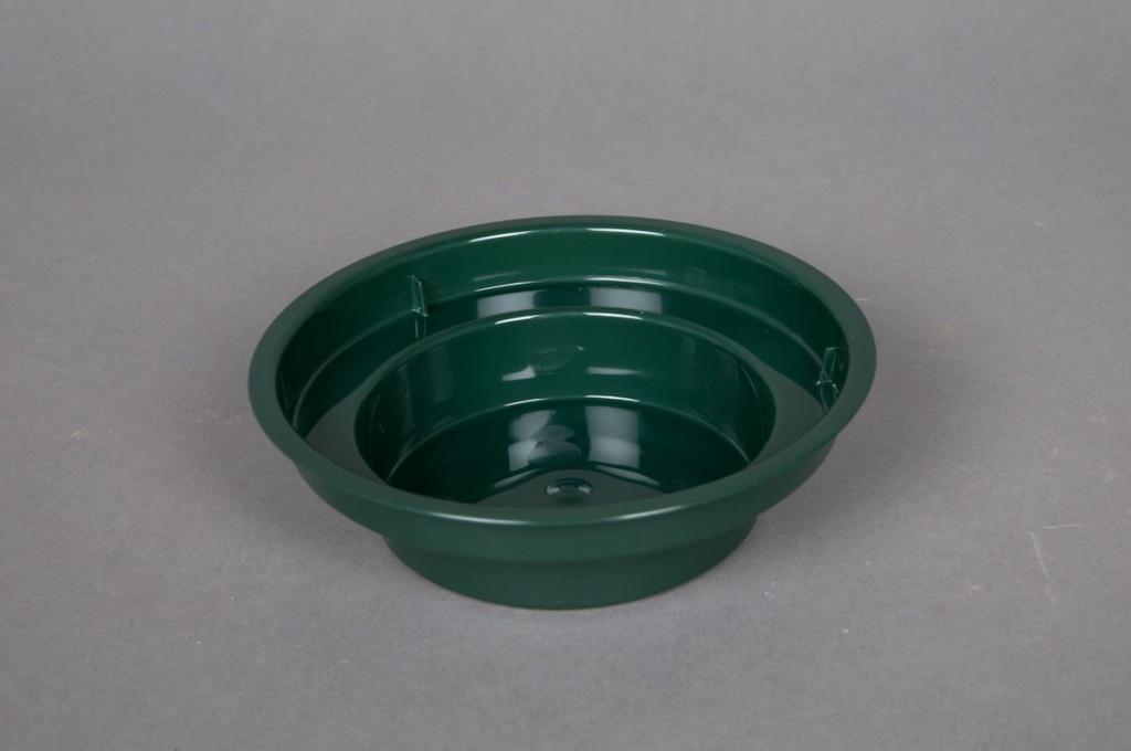 Paquet de 25 coupes vert D12 H3.5cm