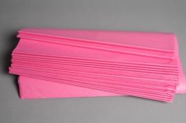 A307IX Paquet de 480 feuilles papier de mousseline cyclamen 50x75cm