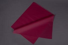 A138QX Paquet de 480 feuilles papier de soie bordeaux 50x75cm