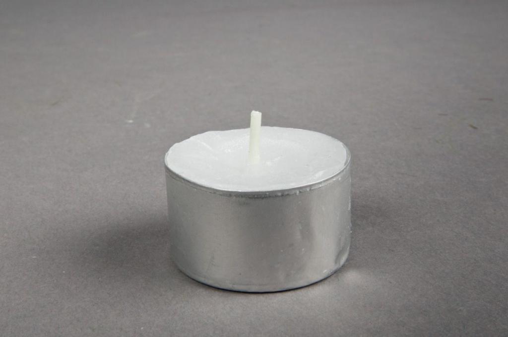 Paquet de 50 bougies chauffe-plat 8H D4cm