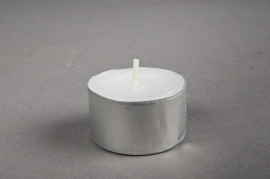 Bag of 50 tealights 8h D4cm