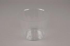 A000V9 Paquet de 50 pots en plastique D10cm H9.5cm