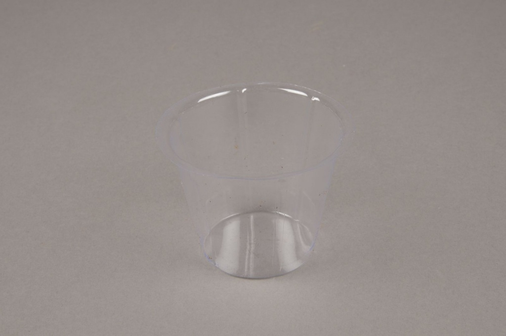 A006V9 Paquet de 50 pots en plastique D7cm H5cm