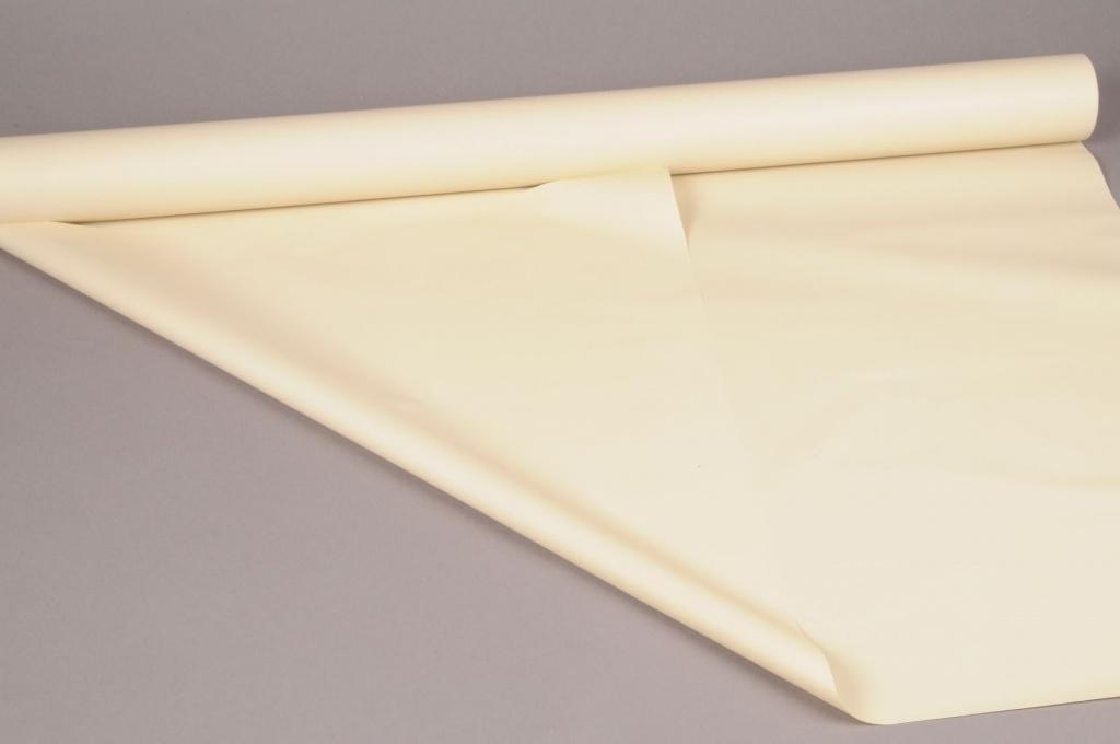 A252BD Pearl ivory polypropylene roll 80cm x 40m