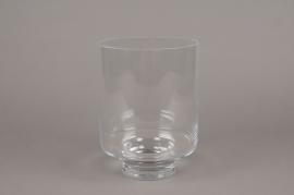 A241I0 Photophore en verre D18cm H24cm