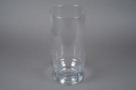 A242I0 Photophore en verre D18cm H40cm