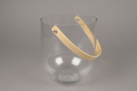 A058MA Glass light holder D19cm H23cm