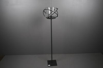 Mobestech Photophore en c/éramique dor/ée avec Grands Yeux en Forme de Chouette pour d/écoration de f/ête