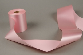 A026AI Pink bereavement ribbon 100mm x 50m
