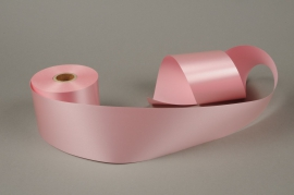 A019AI Pink bereavement ribbon 75mm x 50m