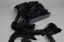 pl36lw Boite de plumes de dinde noir 45gr