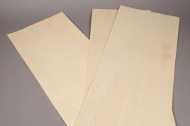 x070gs Placage de bois naturel L30cm H70cm