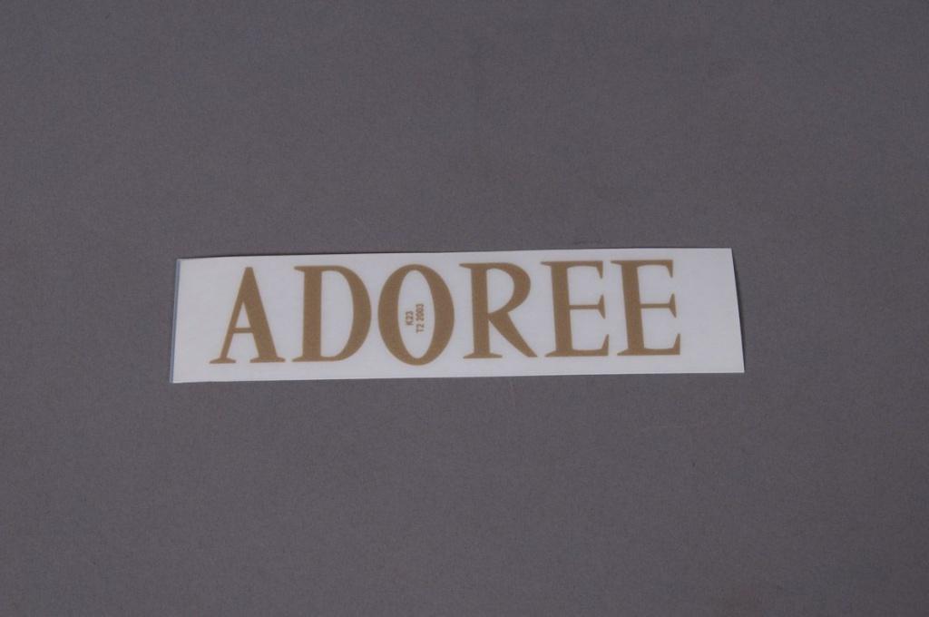 A036K4 Pochette ADOREE 33mm