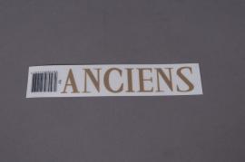 Pochette ANCIENS 33mm