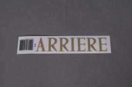 Pochette ARRIÈRE 33mm