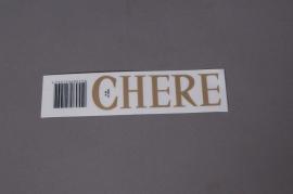 A050K4 Pochette CHERE 33mm