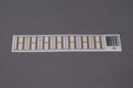 A009K4 Pochette de 50 lettres H 33mm