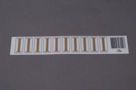 A010K4 Pochette de 50 lettres I 33mm