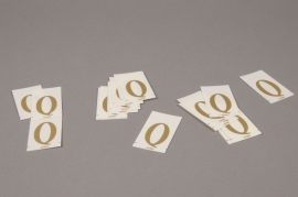 A018K4 Set of 50 letters Q 33mm