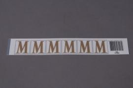 A014K4 Pochette de 70 lettres M 33mm